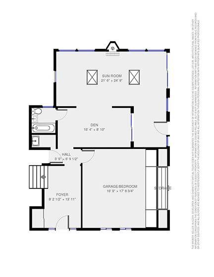 Completed Floor Plan